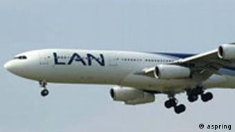Airbus der LAN Chile