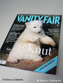Titelcover Vanity Fair mit Knut
