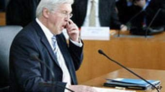 Steinmeier before the committee