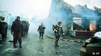 Großbritannien Falkland Krieg Einmarsch in Port Stanley Jahrestag