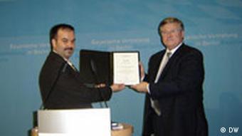 Franjo-Basic-Preis an Botschafter von Kroatien Zoran Jašic