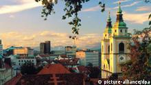 Franciskanska church, Ljubljana, Slowenien, Slowenien