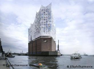 Tradición y modernidad se encuentran en la nueva sala de conciertos de Hamburgo.