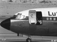 entführte Lufthansa-Maschine