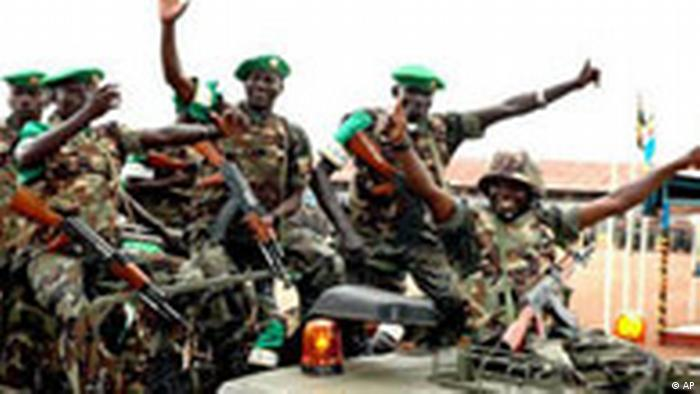 Somalia Friedensmission Soldaten aus Uganda (AP)