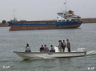 رودخانه مرزی اروندرود مرز آبی ایران و عراق