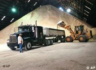 Un molino de caña de azúcar que se usa para la producción de etanol, Texas