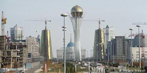 Astana, Nursultan Nasarbajews Traumstadt