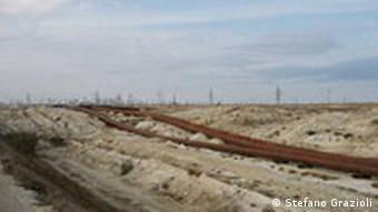 Pipeline, irgendwo in Kasachstan