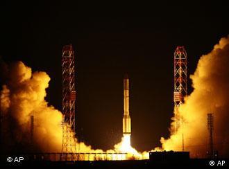 Старт ракеты Протон-М (фото из арихива)