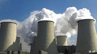 Cooling towers of a coal power plant in Germany