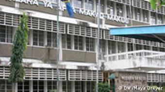 Health Ministry building in Tanzania