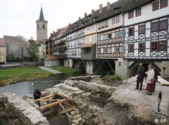 Erfurt unearthed another tourist attraction