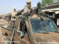 Soldats rebelles à l'Est du Tchad