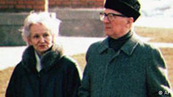 Margot i Erich Honecker