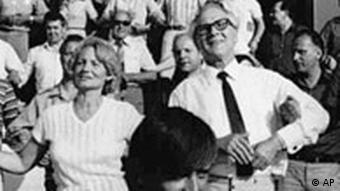 Deutschland DDR Margot und Erich Honecker