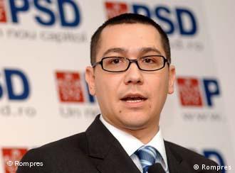 Premierul şi preşedintele PSD, Victor Ponta