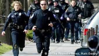 Blacksburg, 16. April 2007, AP