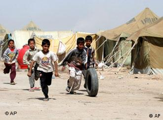 Some two million Iraqis live in refugee camps within their own country