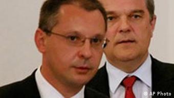 Sergei Stanishev und Rumen Petkov, Bulgarien