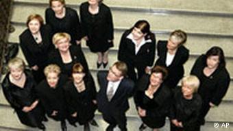 BdT Finnland Neue Regierung Ministerpräsident Matti Vanhanen