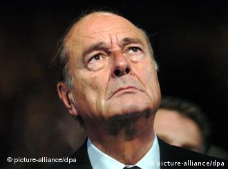 FILE - In this June 2008 file photo, former French President Jacques Chirac, seen, during the ceremony to officially launch the Fondation Chirac.