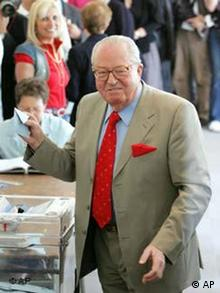 Wahlen in Frankreich 2007 - Le Pen wählt