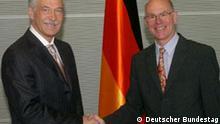 Deutschland Russland Boris Gryslow bei Norbert Lammert