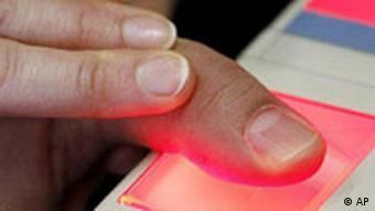 Deutschland Sicherheit digitaler Fingerabdruck