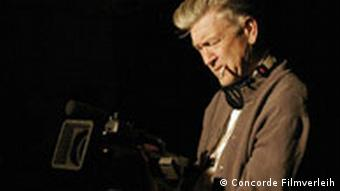 Regisseur David Lynch mit Kamera