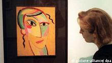 Deutschland Museum Ausstellung Gemälde von Alexej von Jawlensky