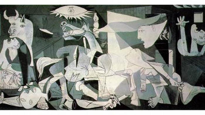 El cuadro Guernica
