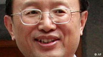 Chinas Außenminister Yang Jiechi (2006, Quelle: AP)