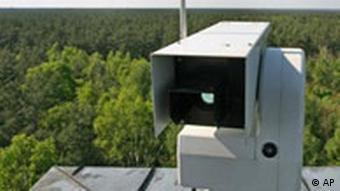 Камеры видеонаблюдения в немецких лесах
