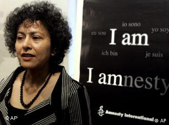 Amnesty's Secretary General Irene Khan and her group has long been campaigning against the death penalty