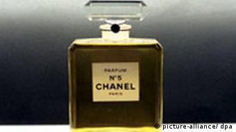 Legendäres Parfüm Chanel Nummer 5 Kalenderblatt