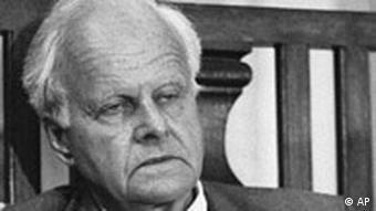 Deutschland Carl Friedrich von Weizsäcker gestorben