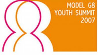 Model G8 Youth Summit 2007 Logo
