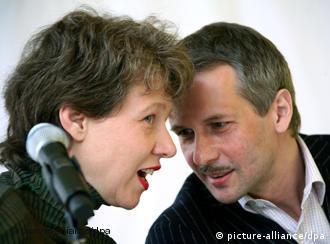 Noack e Buergel: menos sorrisos que há 100 dias atrás