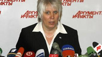 Marina Kaljurand, Botschafterin Estlands in Moskau