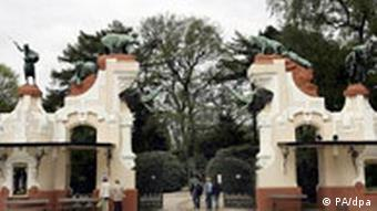 دروازه قدیمی باغوحش هاگنبک