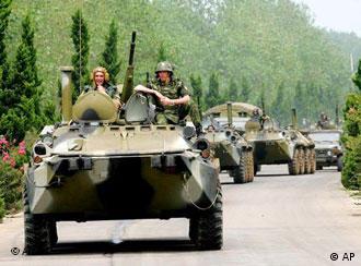 مانور نظامیان روسیه