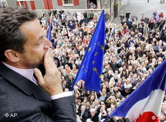 Sarkozy: Now is the time for me to give back to France what France has given to me.