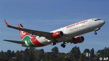 Kenya Airways Boeing 737-800, vermisstes Flugzeug