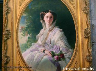Франц Ксавьер Винтерхальтер. Портрет королевы Ольги, 1856