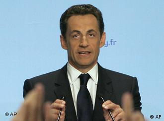 Sarkozy has a busy first day in office