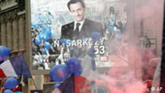 Frankreich, Wahlsieger Nicolas Sarkozy