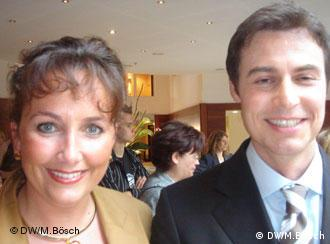 Petra Jasker und <b>Hermann Koebe</b>, zwei Seminarteilnehmer (Foto: Marcus Bösch) - 0,,2480466_4,00
