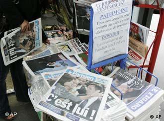 Französische Zeitungen - AP