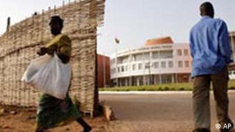 Parlament Gebäude in Guinea Bissau